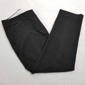 LOFT Marissa Black Cropped Pant Size 10